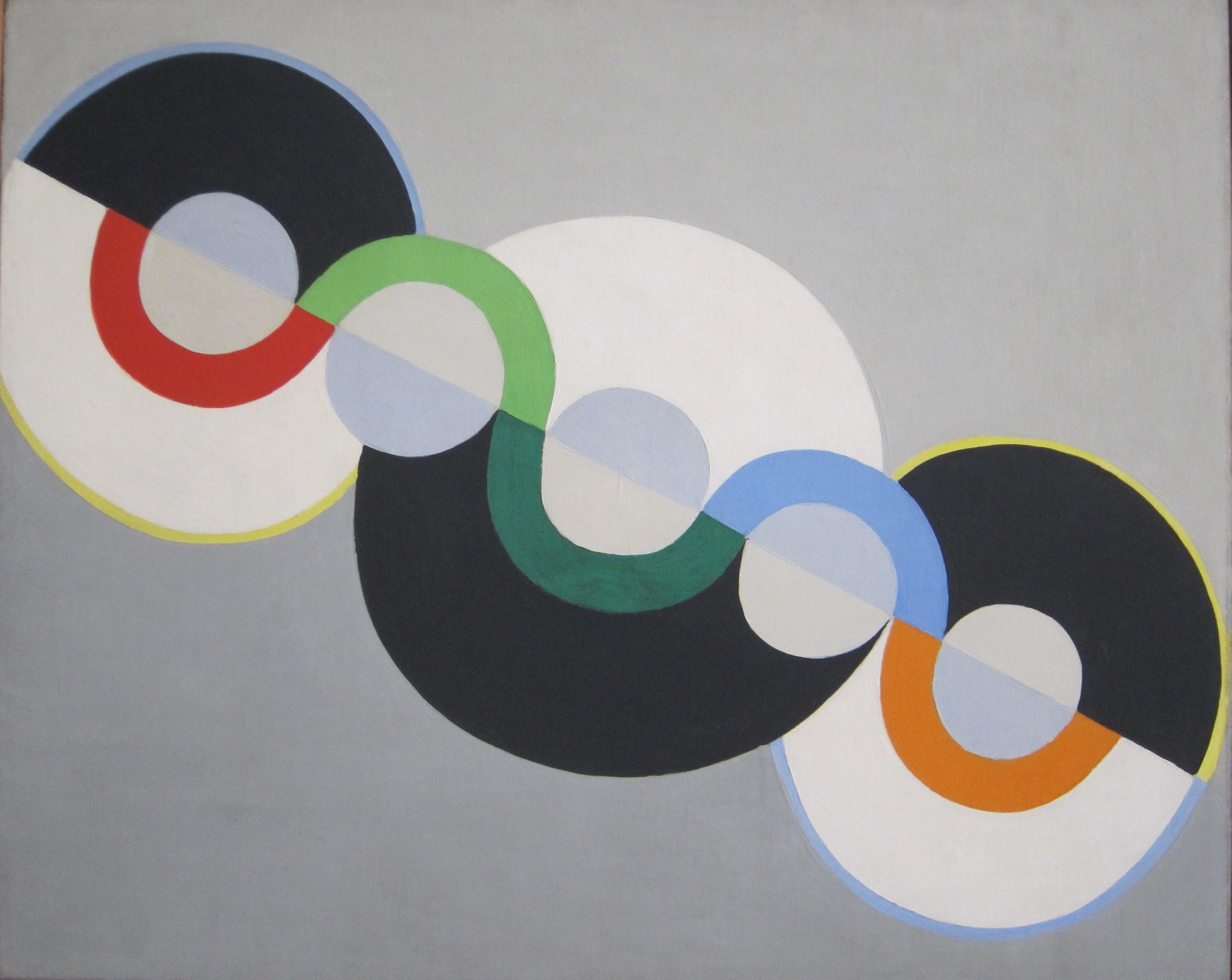 'Endless Rhythm', tekijä Robert Delaunay (Tate Modern)